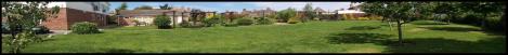 Panoramic of gardens