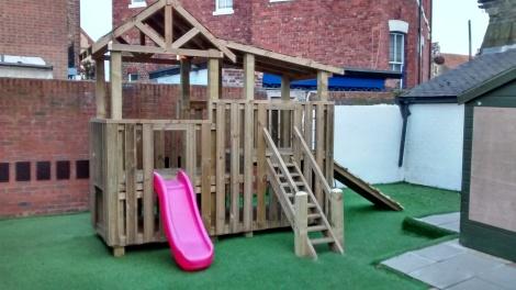 Pre-School outside play